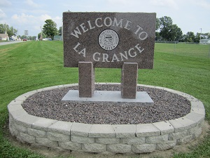 picture of the City of LaGrange city sign